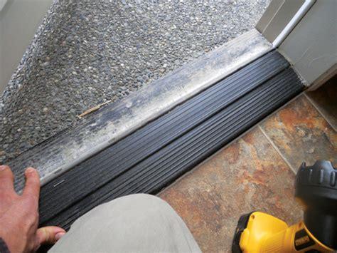 exterior door inspection   doors leak
