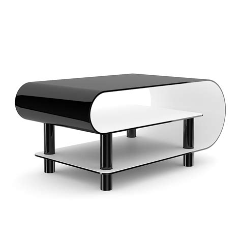 modern black table l black gloss coffee table smart decision for interior