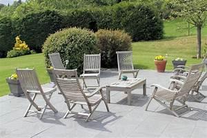 Mobilier De Terrasse : mobilier de jardin blanc ~ Teatrodelosmanantiales.com Idées de Décoration