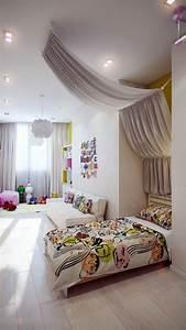 crisp, and, colorful, kids, room, designs