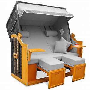 Strandkorb Xxl Volllieger : strandkorb xxl premium ostsee volllieger luxus gartenliege ~ Watch28wear.com Haus und Dekorationen