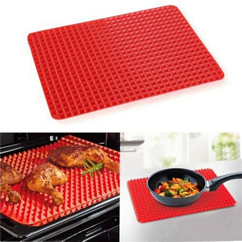 pyramid baking mat non stick silicone pyramid pan baking mat mould cooking