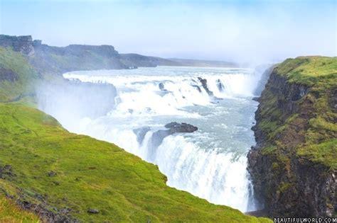 Gullfoss Waterfall Backgrounds by Black Background 11515 Hdwpro