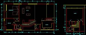 House By Robert Venturi In Autocad
