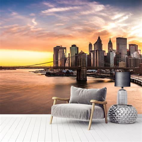 Фотообої Панорама на Бруклінський міст купити на стіну ...