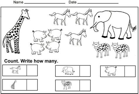 free printable science worksheets for kindergarten