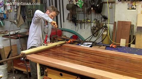 clamp mortise  tenon joints solid wood door series video  youtube