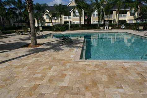 acrylic pool deck  pavers home design ideas