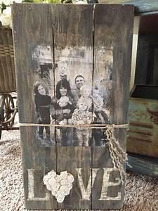 Créer Un Cadre Photo : cr er un cadre photo avec du bois recycl voici 18 id es bois recycl cadres photos et ~ Melissatoandfro.com Idées de Décoration