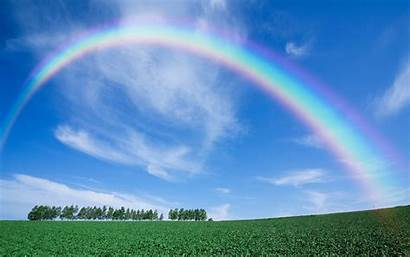 Rainbow Wallpapers Sky Nature