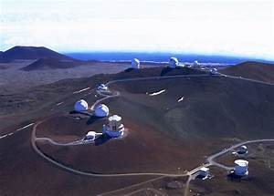 Mauna Kea Observatories viewed from the West