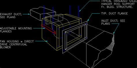 exhaust fan inline dwg block  autocad designs cad