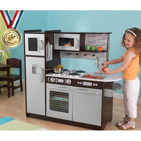 cuisine en bois jouet ikea d occasion kidkraft cuisine enfant en bois uptown expresso
