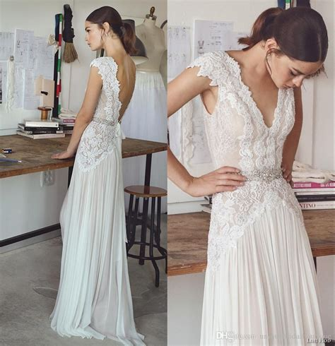 Boho Wedding Dresses Lihi Hod 2017 Bohemian Bridal Gowns