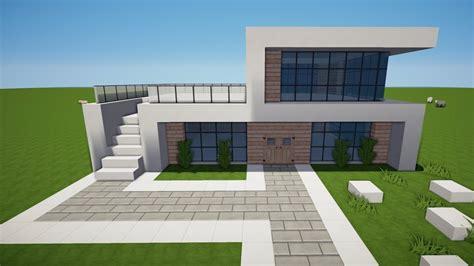 Minecraft Modernes Haus Bauen Tutorial [haus 121] Youtube