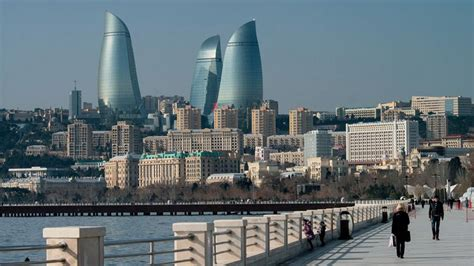 It lies on the western shore of the caspian sea on the southern side of the abseron peninsula, around the wide curving sweep learn more about baku, including its history. Baku wallpaper | 1920x1080 | #65621