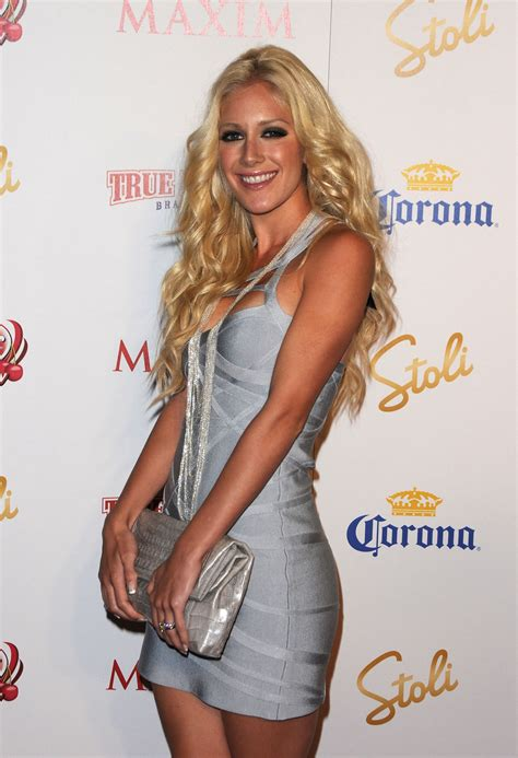 Heidi Montag Takes Her Awesome Tight Figure The Maxim