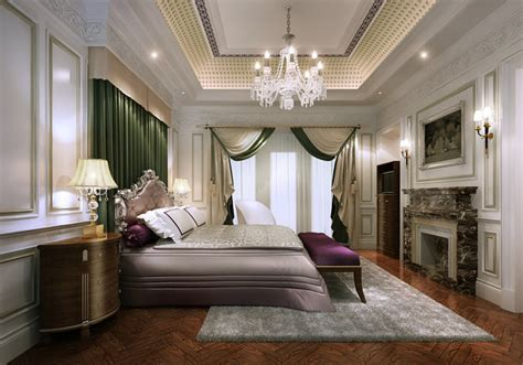 Elegant Classic Style Bedroom 3d Cgtrader