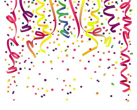 birthday clipart confetti birthday confetti transparent