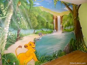 Décoration murale Roi lion Hard Deco