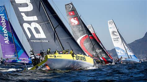 volvo ocean race sailors prepare  rough  start