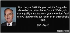 First, the year... David Cooper Quotes