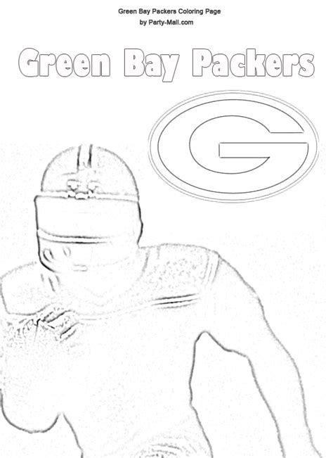 green bay packers coloring pages green bay packers coloring sheets free green bay packers
