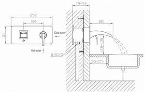 Unterputz Armatur Waschbecken : bad badewanne unterputz armatur wandmontage wasserfall ~ Lizthompson.info Haus und Dekorationen