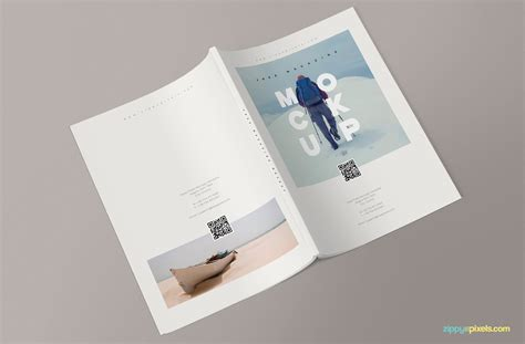 Since the main object is volume, you need to see it from different sides. Creative PSD Magazine Mockup to Download for Free- DesignHooks
