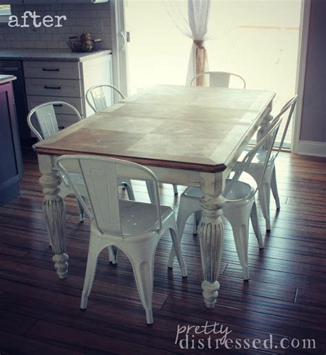 pretty distressed the of a farmhouse table