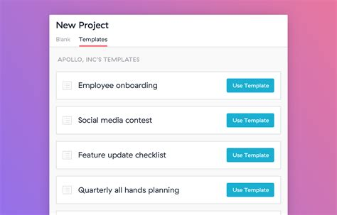 asana templates learn about creating custom project plan templates in asana