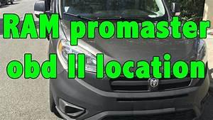 Ram Promaster 2015 Obd Ii Location