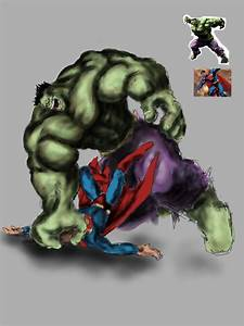 WIP Hulk Vs Superman by RomeoMafia on DeviantArt