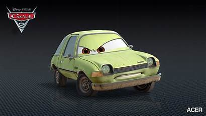 Cars Acer Grem Into Drive Disney Characters