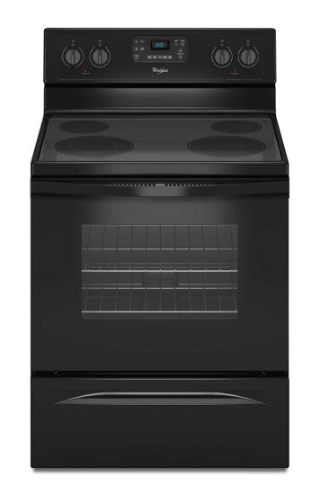 5.3 Cu. Ft. Freestanding Electric Range with Easy Wipe