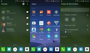 This is Microsoft's Arrow Launcher for Android (download ...