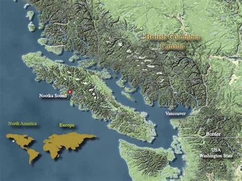 nootka sound map inlet esperanza fishing