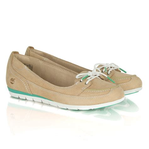 Timberland Boat Shoes Womens by Timberland Beige Leather Earthkeepers 174 Harborside S
