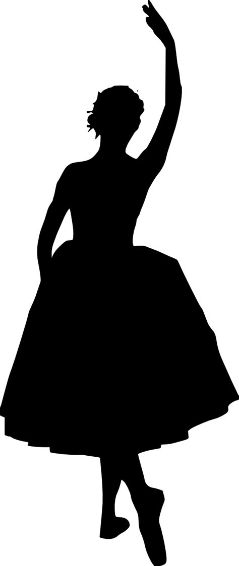 20 Ballerina Silhouette (PNG Transparent) | OnlyGFX.com