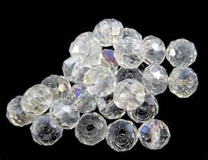 Styroporkugeln Füllmaterial Baumarkt : 25 tschechische kristall perlen glasperlen 6mm crystall ab rondell x206 ebay ~ Sanjose-hotels-ca.com Haus und Dekorationen