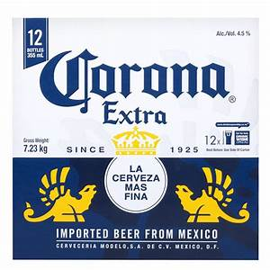 buy corona extra beer 355ml bottles 12pk online at With corona beer label