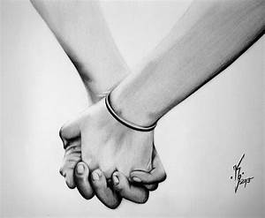 Pencil Drawings Of Couples Holding Hands - DRAWING ART IDEAS