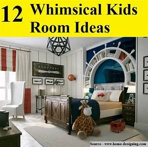 12 Whimsical Kids Room Ideas...For more creative tips and ...