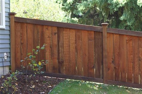 wood fence styles king style wood privacy fences midwest fence