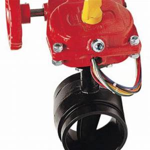 Arcofire  U2013 Butterfly Valves With Switch