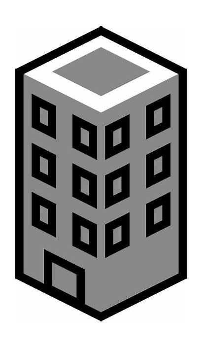 Building Tower Clip Clipart Clker Svg