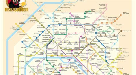 Carte Metro Pdf by Et Maintenant Le Plan Du M 233 Tro Des Pintes Les