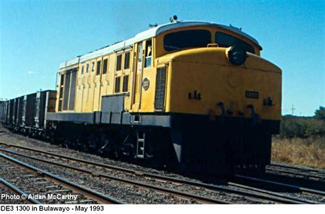 Zimbabwe Diesel Locomotive Class DE1 - DE2 - DE3 Photos