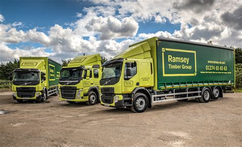 volvo truck dealers uk ramsey timber group beds in new volvo trucks fleet uk