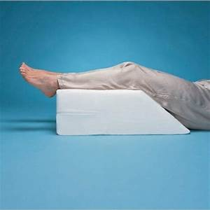 elevated leg rest wedge pillow foot and leg positioning With elevation pillow for feet